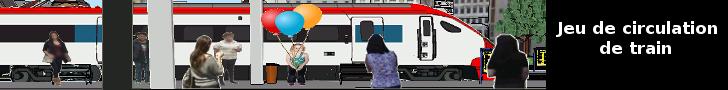 Le jeu de simulation de train